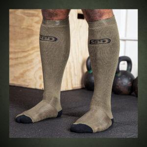 Deadlift-Socks-Endure-pruun
